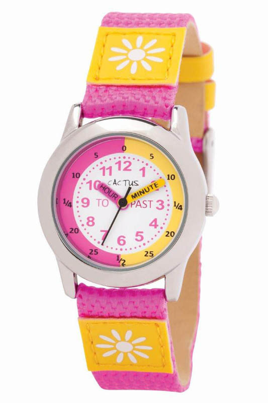 Cactus Time Teacher Watch