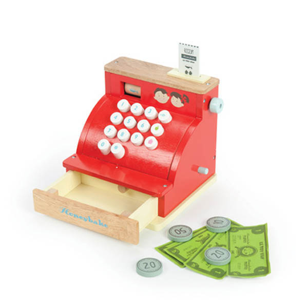 Toy Cash Register : Le toy van honeybake honeybee market stall