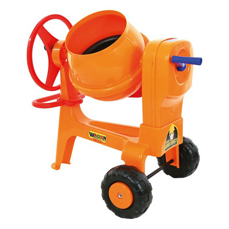 Cement Mixer with Hitch Bar