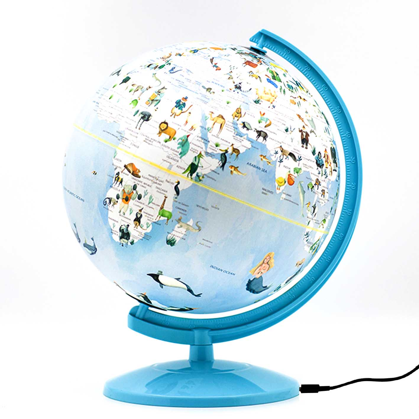 Childrens Illuminated Globe