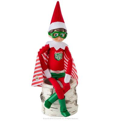 CLAUS COUTURE COLLECTION® SCOUT ELF SUPERHERO