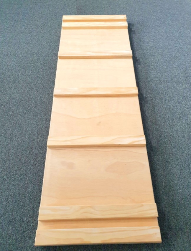 Wooden Climbing Ramp/Slide