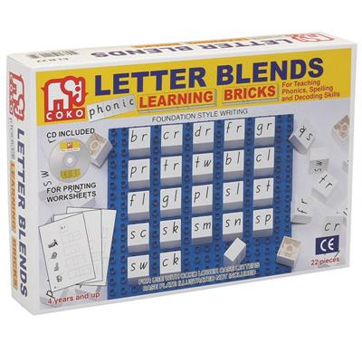 COKO Letter Blends Learning Bricks