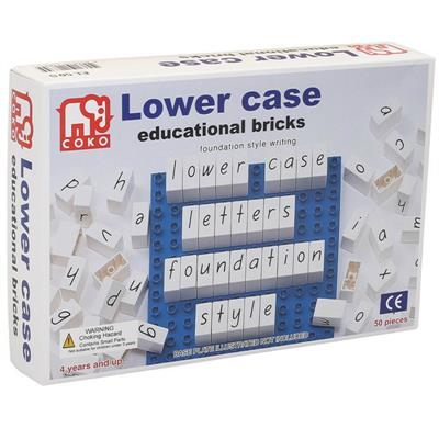 COKO Lowercase Letters Educational Bricks