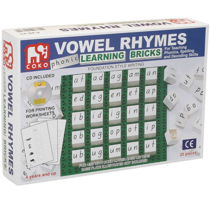 COKO Vowel Rhymes