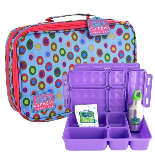 Confetti Go Green Lunch Box Set