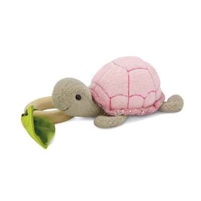 Apple Park Crawling Critter Pink Turtle