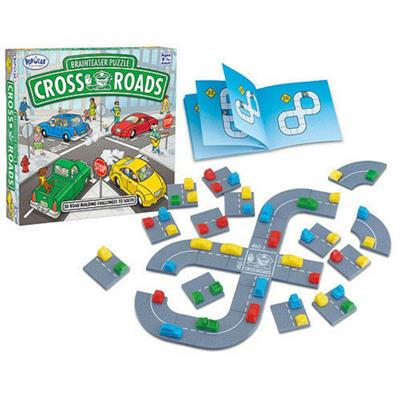 Cross Roads Brainteaser Puzzle Game
