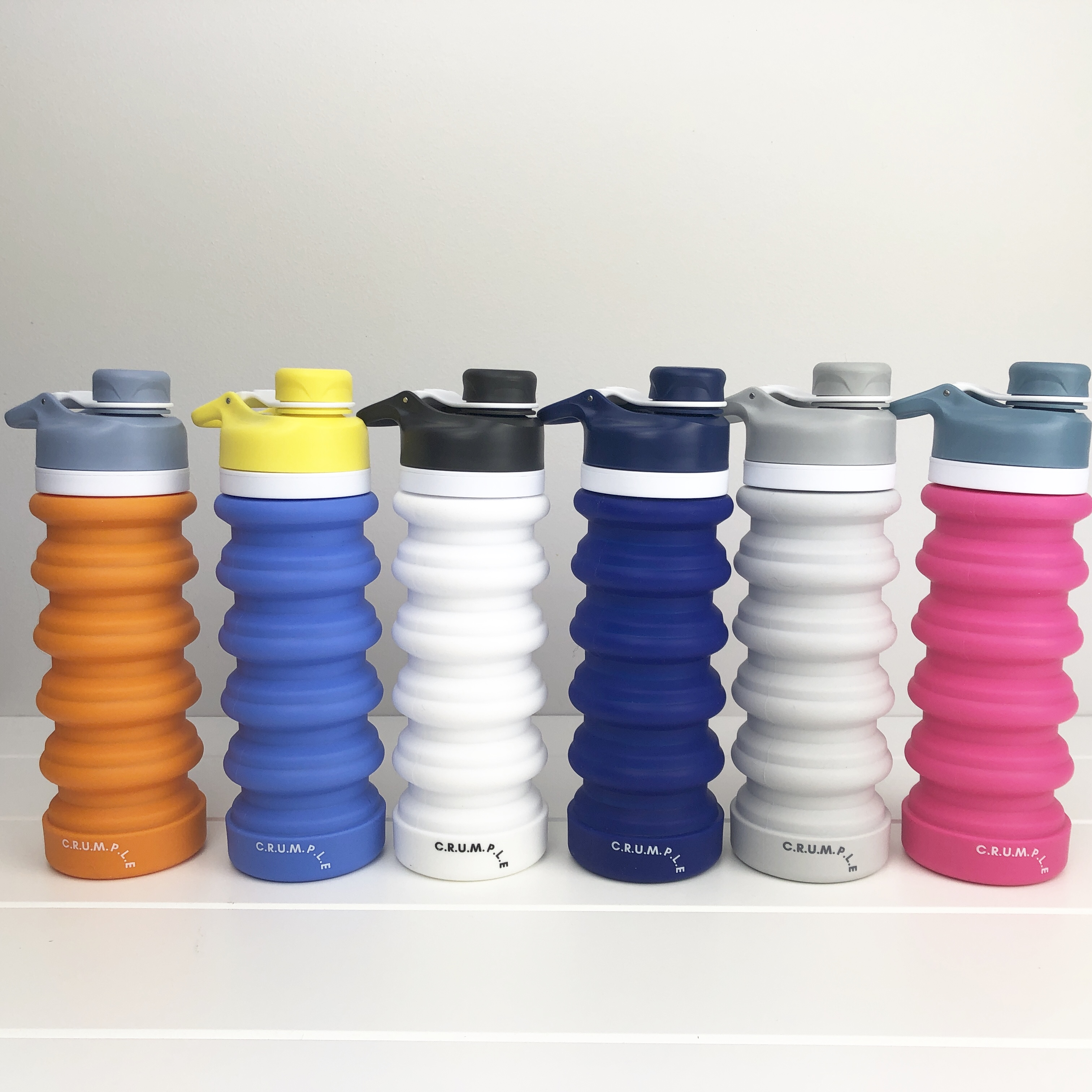 Crumple Collapsible Drink Bottle 550ml