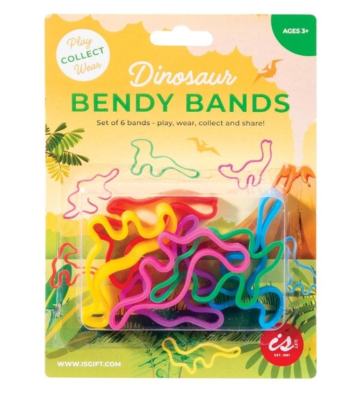 Dinosaur bendy bands