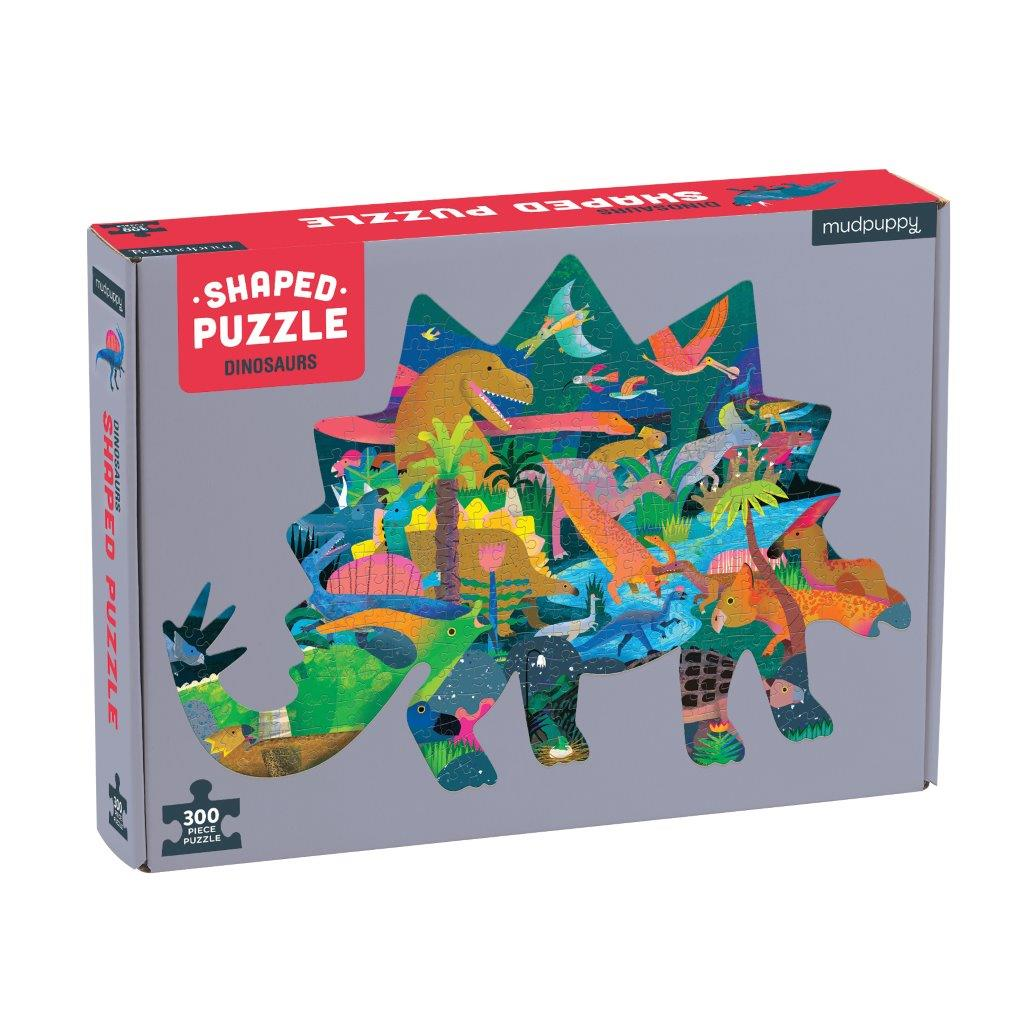 Dinosaur Shape Puzzle 300pc