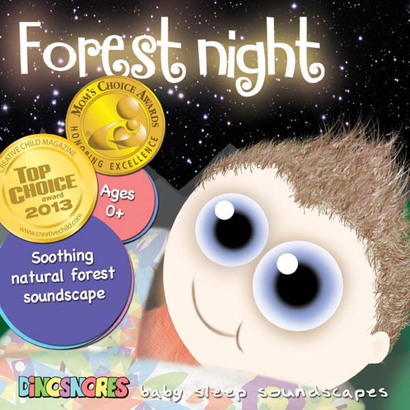 Dinosnores- Sleep CDs for Babies-Sleepy Soundscapes {Forest Night}
