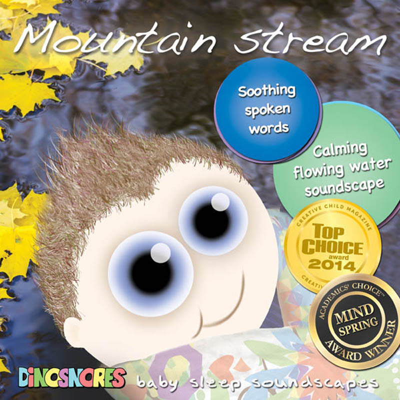 Dinosnores- Sleep CDs for Babies-Sleepy Soundscapes {Mountain Stream}