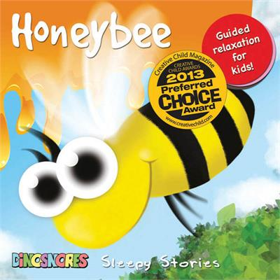 Dinosnores- Sleep CDs for Kids-Sleepy Stories {Honeybee}