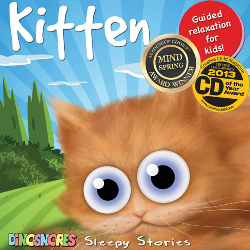 Dinosnores- Sleep CDs for Kids-Sleepy Stories{Kitten}