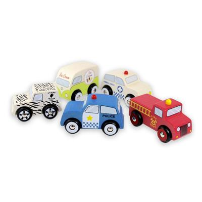 Discoveroo Emergency 5 Car Set