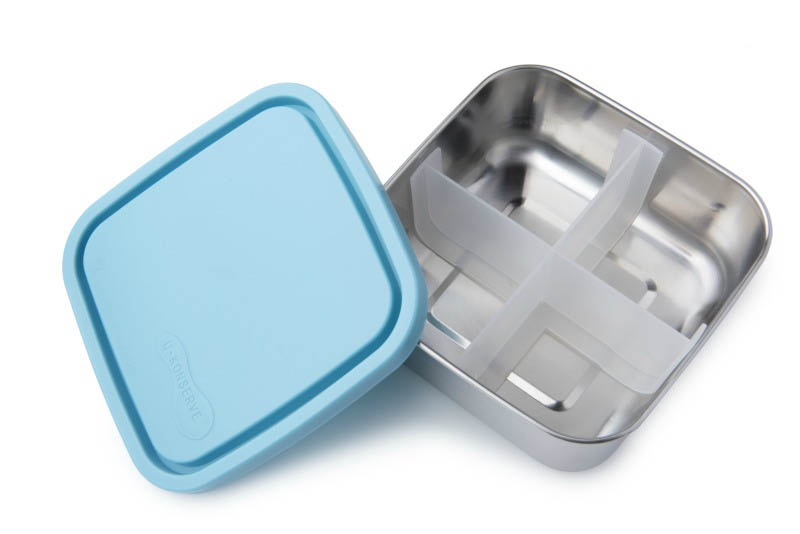 Divided To-Go Medium Container-SKY