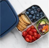 Divided To-Go Medium Container-OCEAN