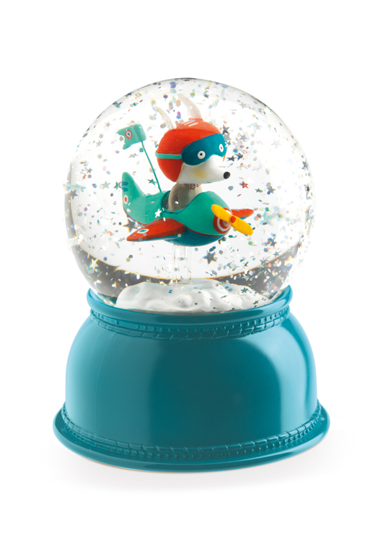 Djeco Aeroplane Night Light Globe