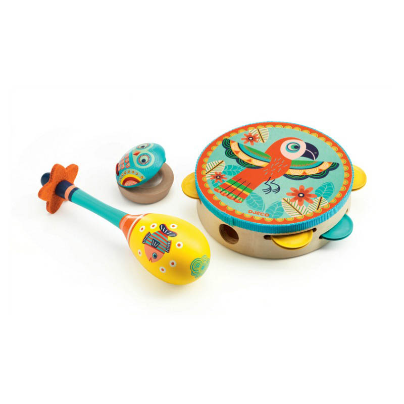 Djeco - Animambo Set of 3 instruments