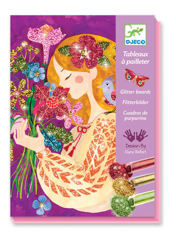 Djeco Art by Numbers Glitter Scent of Flowers