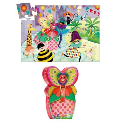 Djeco Butterfly Lady Puzzle 36pc