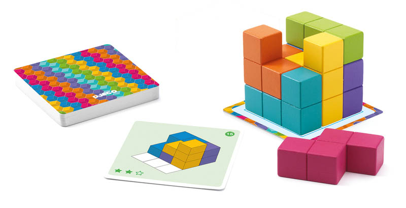 Djeco - Cubissimo Game