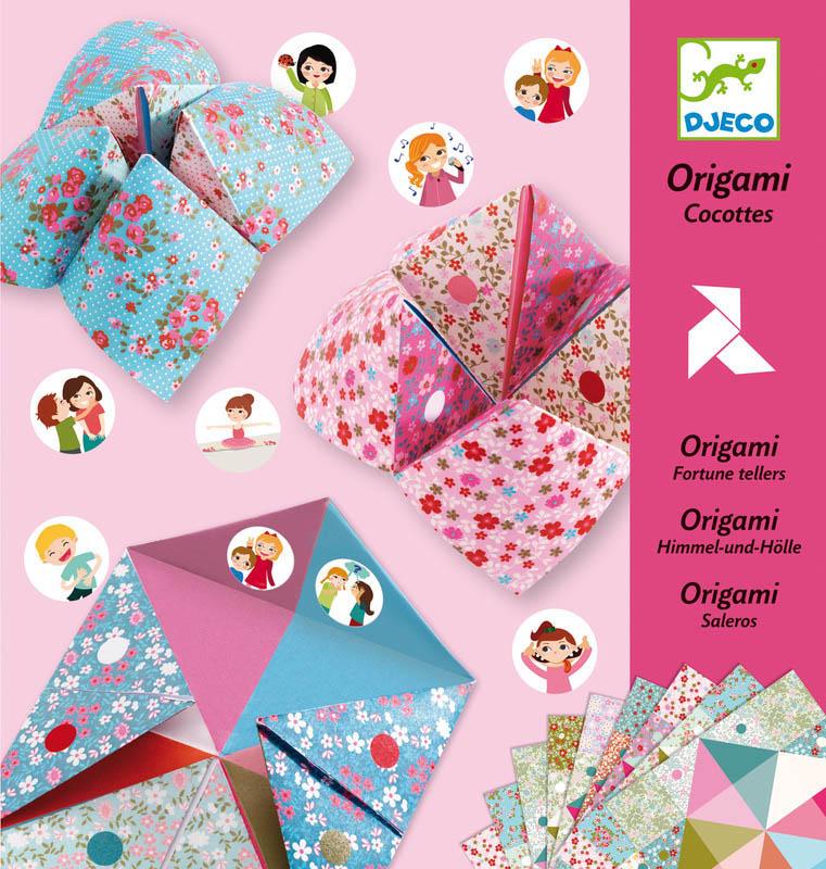 djeco fortune tellers origami. Black Bedroom Furniture Sets. Home Design Ideas