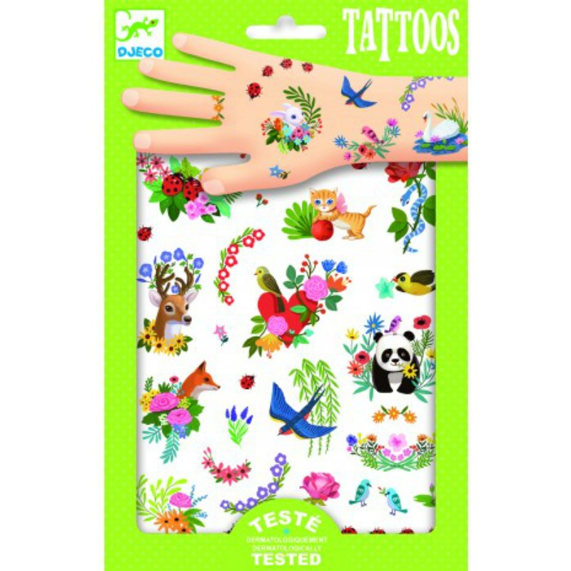 Djeco Happy Spring Tattoos
