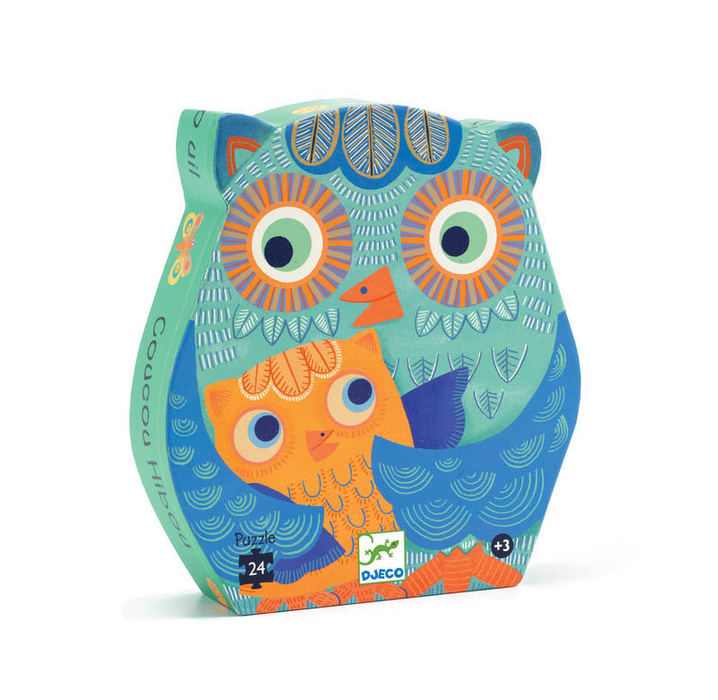 Djeco Hello Owl 24pc Floor Puzzle