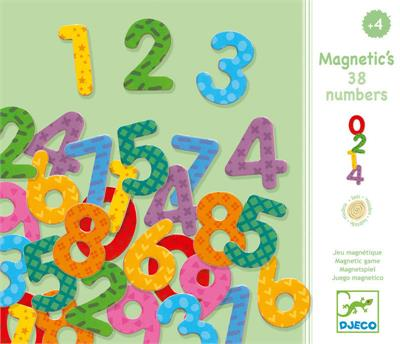 Djeco - Magnetic Numbers Set (38 pcs)