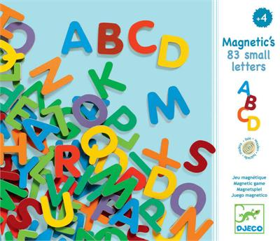 Djeco 83 Magnetic Uppercase Letters