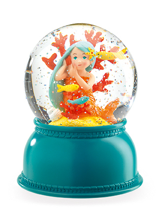 Djeco Mermaid Night Light Globe