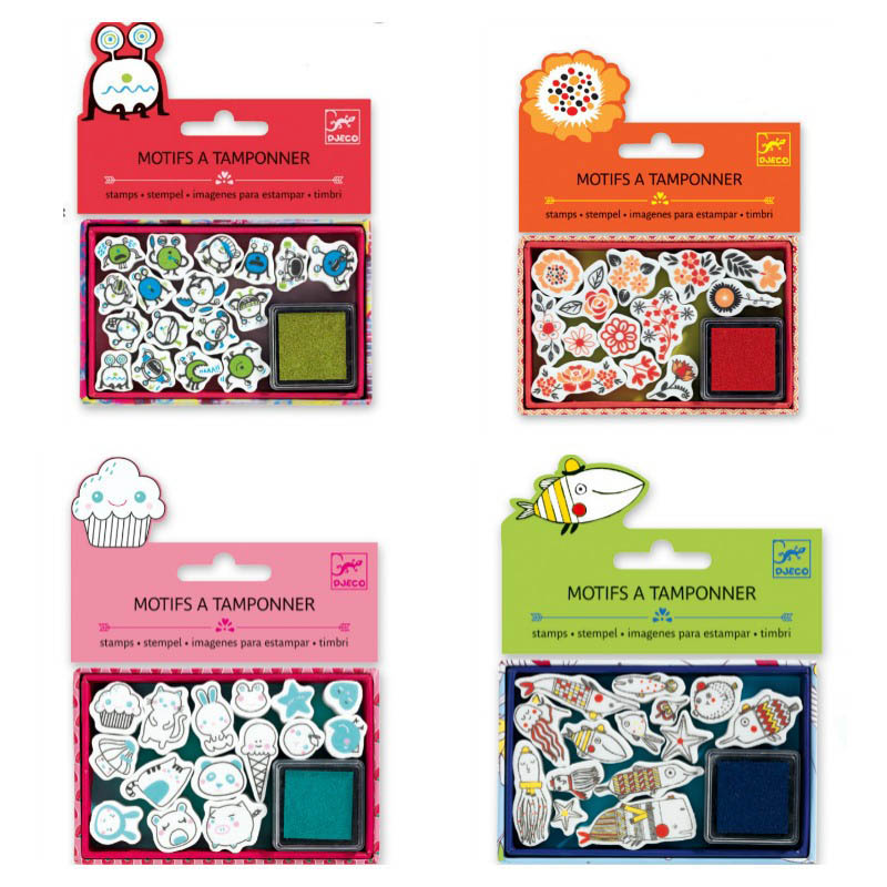 Djeco-Mini Stamp Packs