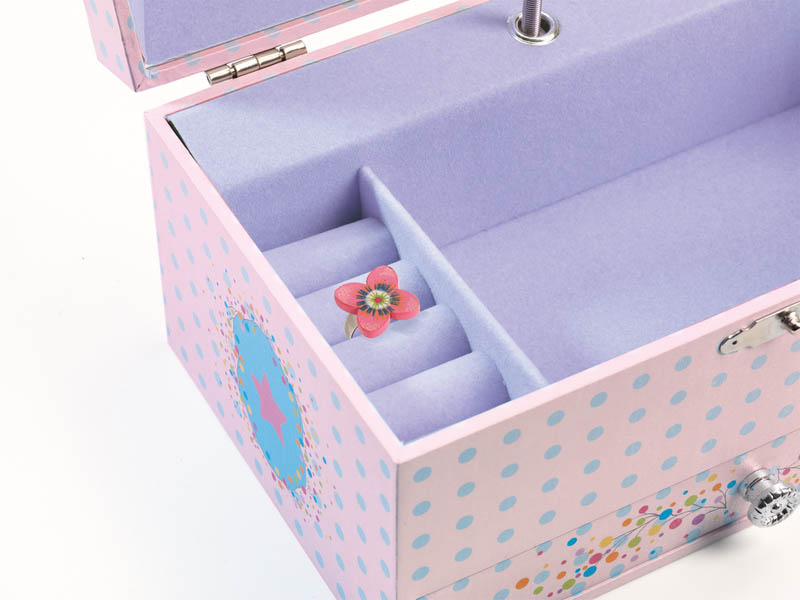 Djeco Music Box - The Ballerina's Song (ring not included)