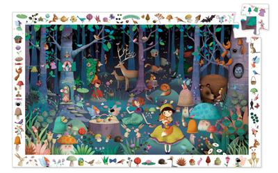 Djeco Observe Enchanted Forest 100pc