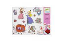 Djeco Princess Stamps Set