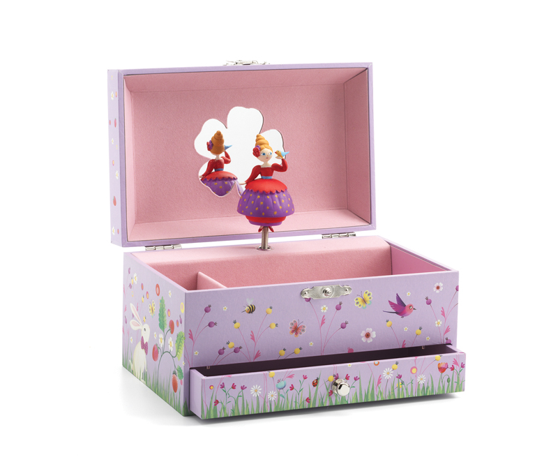 Djeco Princess's Melody Music Box