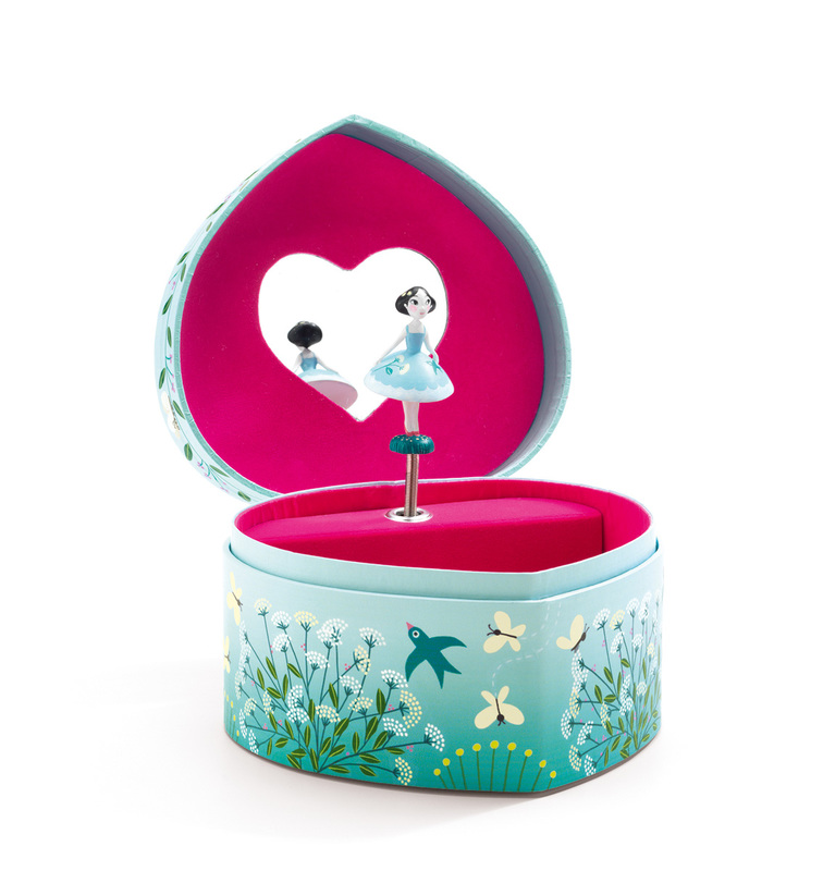 Djeco The Budding Dancer's Song Music Box