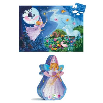 Djeco The Fairy and the Unicorn Puzzle 36pc