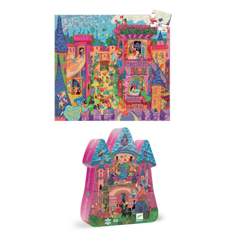 Djeco The Fairy Castle Puzzle 54pc
