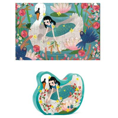 Djeco The Lady and the Swan Puzzle 54pc