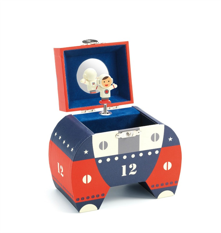 Djeco The Polo 12 Spaceship Music Box