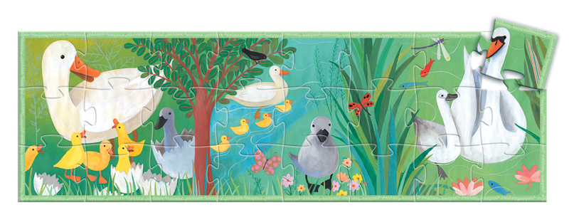 Djeco The Ugly Duckling Puzzle 24pc