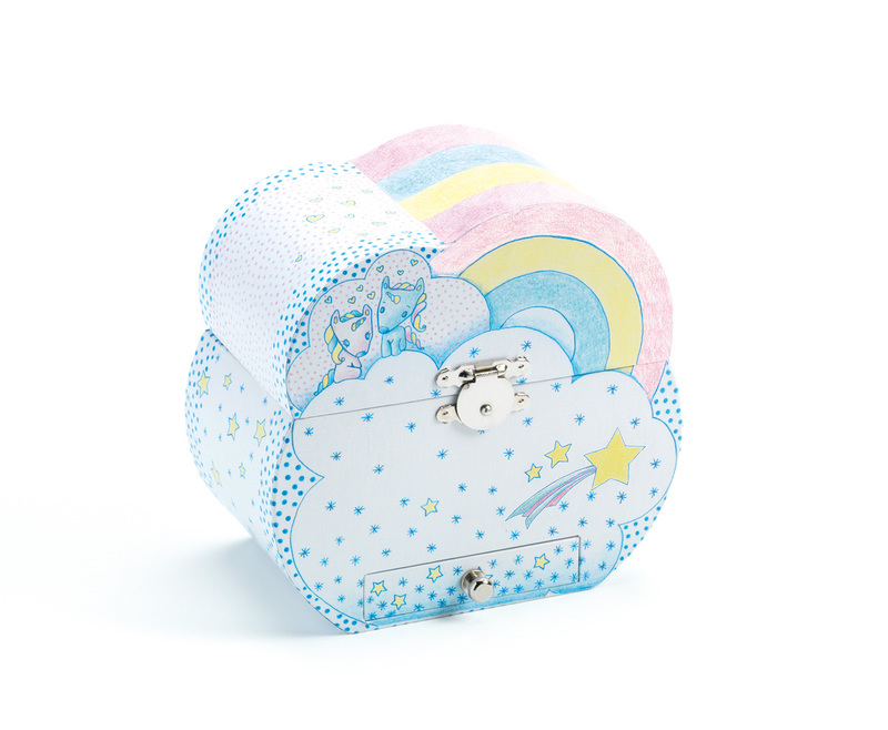 Djeco The Unicorn's Dream Song Music Box
