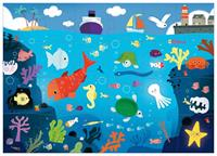 Djeco Under The Sea Giant Puzzle