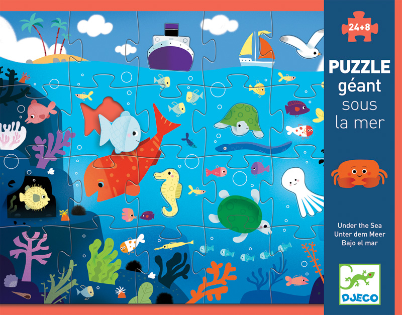 Djeco Under The Sea Giant Puzzle 32pcs