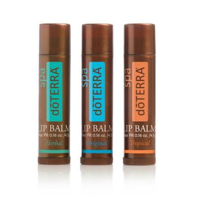 doTERRA SPA Lip Balm - 3 Pack