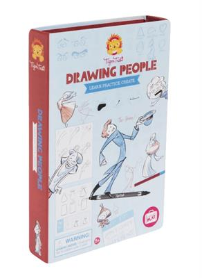 Tiger Tribe Drawing People Kit