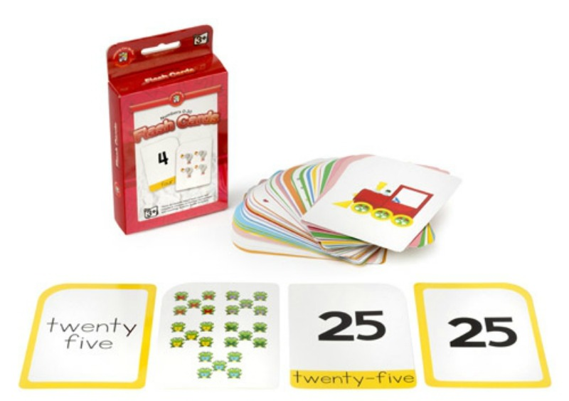 Early Learning Flash Cards Set of 3 - numbers 0-30